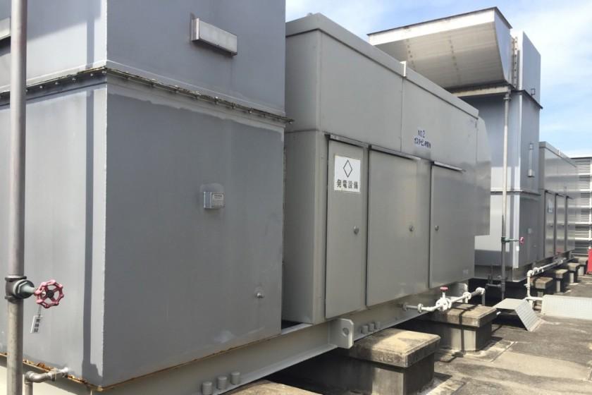 1000KVAの自家発電